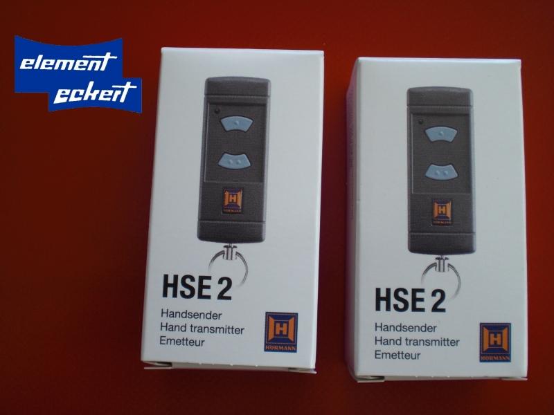 2 st ck h rmann hse2 868 mhz handsender blaue tasten. Black Bedroom Furniture Sets. Home Design Ideas