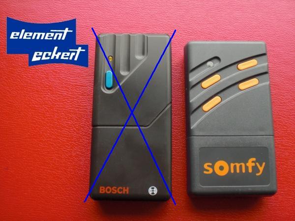 somfy bosch handsender 4 kanal 26 995 mhz gelbe diode profilift toplift c 500 ebay. Black Bedroom Furniture Sets. Home Design Ideas